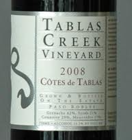 Tablas creek