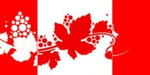 Canadian vine flag