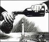Decanting port classic drawing